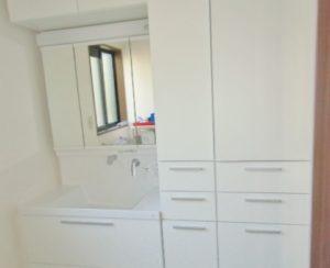 熊本市西区I様邸 洗面室リフォーム工事