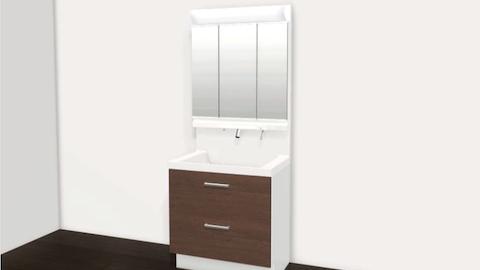 リクシル : オリジナル洗面化粧台