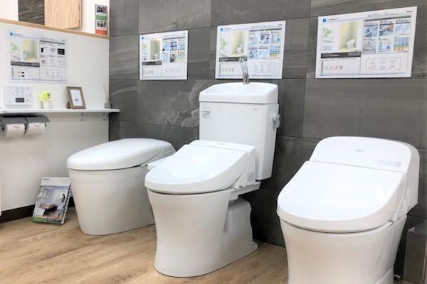 便座も便器もスペースやデザイン、機能、各種取り揃えているので、おうちにぴったりのトイレが見つかります。