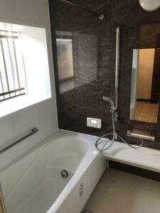 熊本市東区N様邸 お風呂リフォーム工事