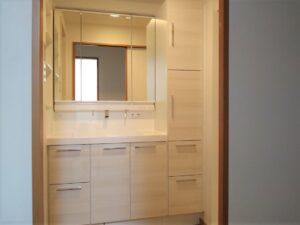 熊本市南区E様邸 洗面化粧台リフォーム工事